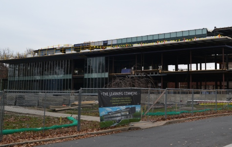 Construction of the Learning Commons remains on schedule