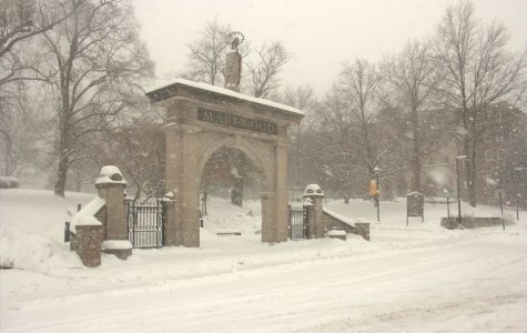 Winter weather poses a hassle for finals week