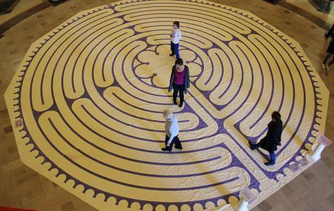 Labyrinth provides peace during time of turmoil