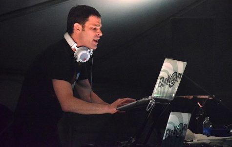 DJ Earworm performs at Spring Fling