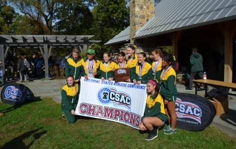 Women's cross country repeats as conference champions