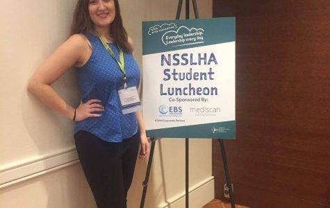 NEWS BRIEF: Speech language pathology student awarded with Member Honors