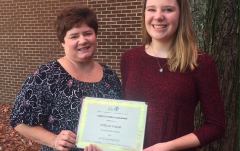 NEWS BRIEF: CSD student wins American Association of University Women Scholarship