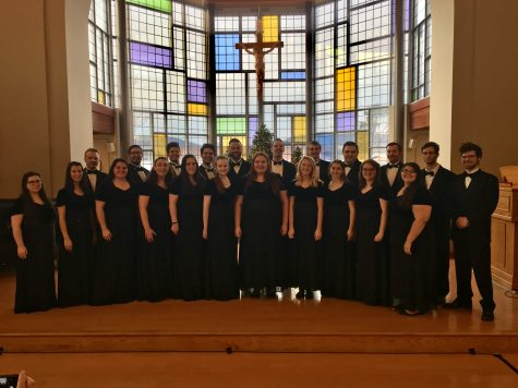 Chamber Singers named semi-finalists in national competition