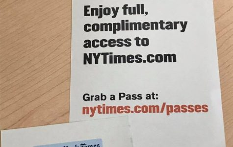 Full access to NYTimes.com now offered to students and faculty