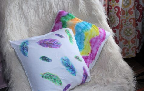 Pinning with Margaret: DIY watercolor pillowcase