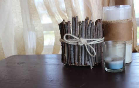 Pinning with Margaret: DIY rustic candle
