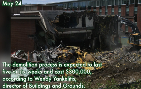 Up to Pace: The demolition of the Learning Resources Center