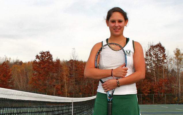 Becca+Schoenberg%3A+Women%27s+Tennis+Rookie