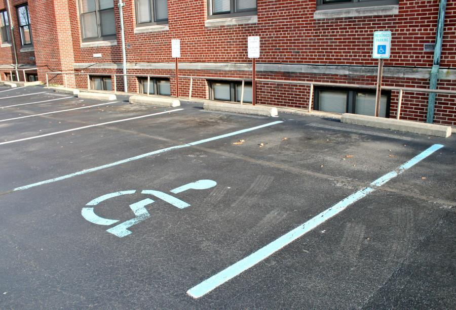 New+handicapped+parking+policy+put+into+effect+last+month