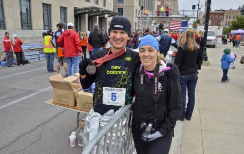 Marywood runs at the Steamtown Marathon