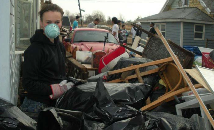 Marywood reaches out to Hurricane Sandy victims