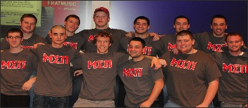 New fraternity Mu Sigma Pi rushes into the spring semester