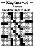 Crossword- February 2013