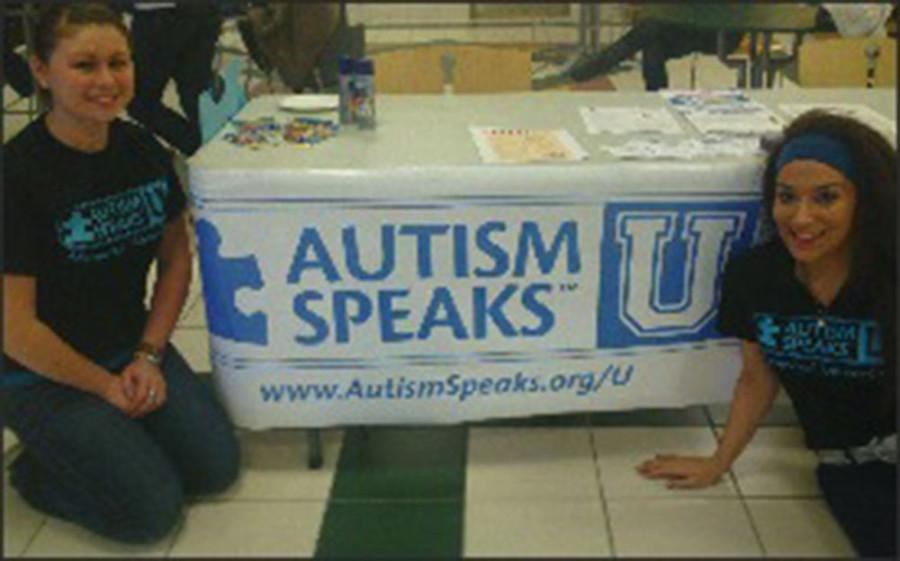Marywood+turns+blue+to+raise+autism+awareness