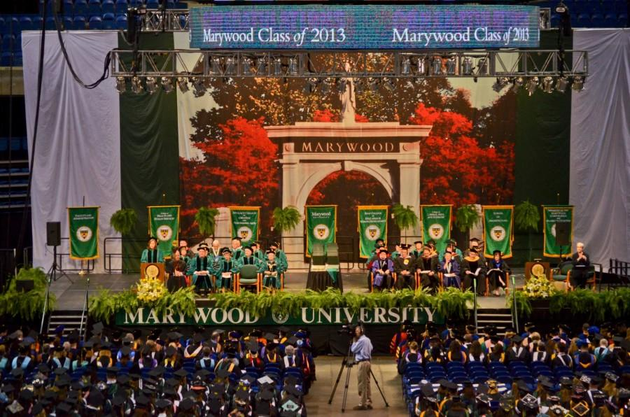 Marywood+University+conferred+850+degrees+at+its+May+12+commencement+ceremony+at+Mohegan+Sun+Arena+at+Casey+Plaza.%2C+WIlkes-Barre%2C+PA.+Credit%3A+Joe+Petro