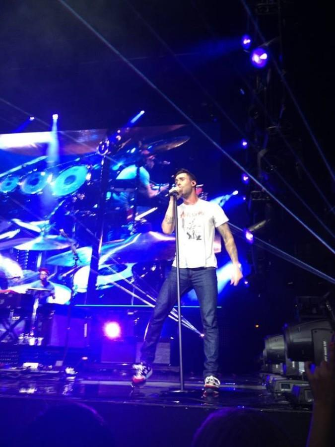 Maroon 5 and Kelly Clarkson lead a knockout performance at Toyota Pavilion