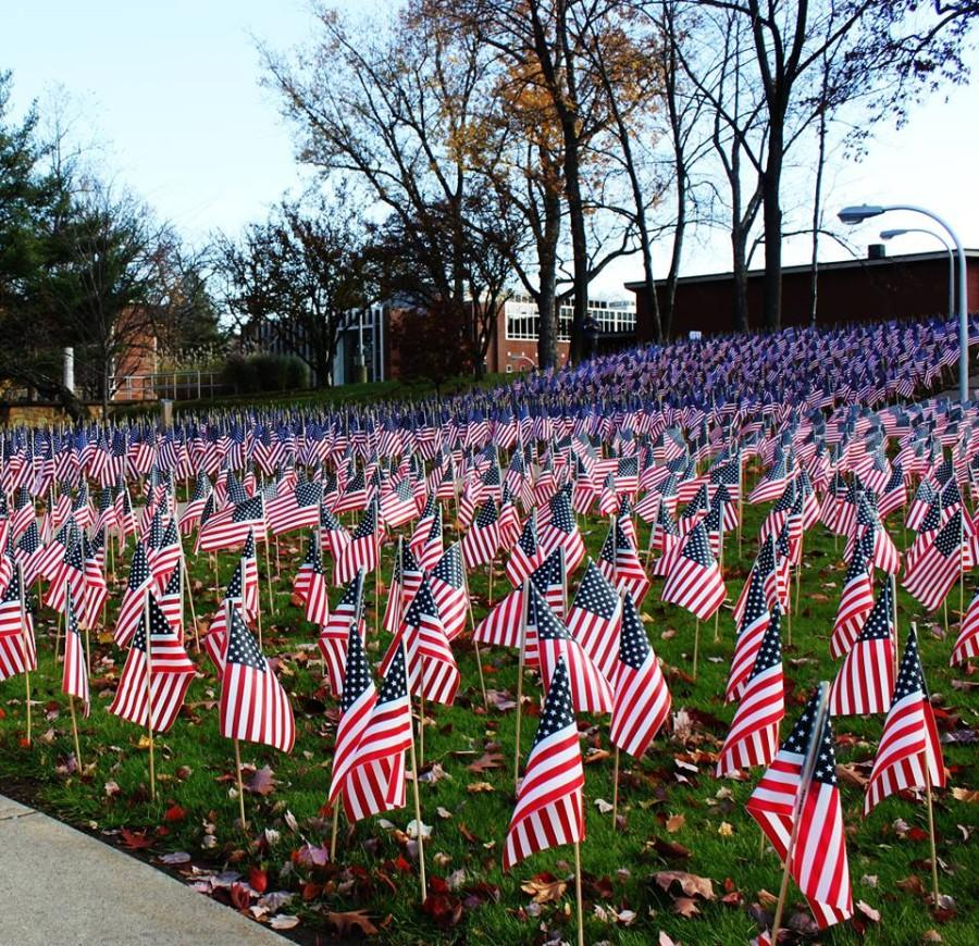 Marywood+community+honors+veterans+past+and+present