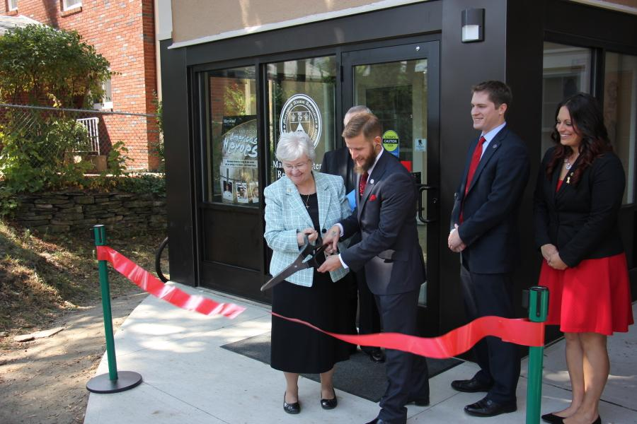 Bethany Hall dedicated as home of Veterans Resource Center