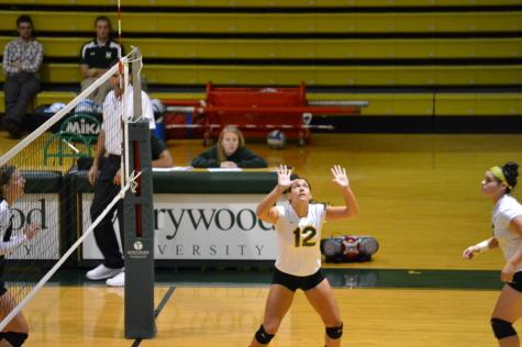 10 Questions with an Athlete: Kelly Chadwick, Volleyball