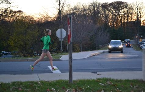Doughman races to Marywood's second fastest 5K time