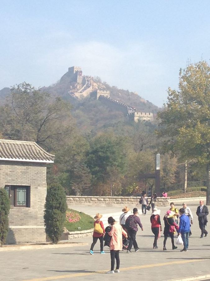 Mike Magistro finds himself at the Great Wall on the latest leg of his adventure.