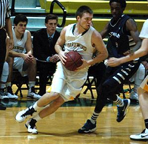 On Feb. 16, Shane Kellaher played against Centenary College.
