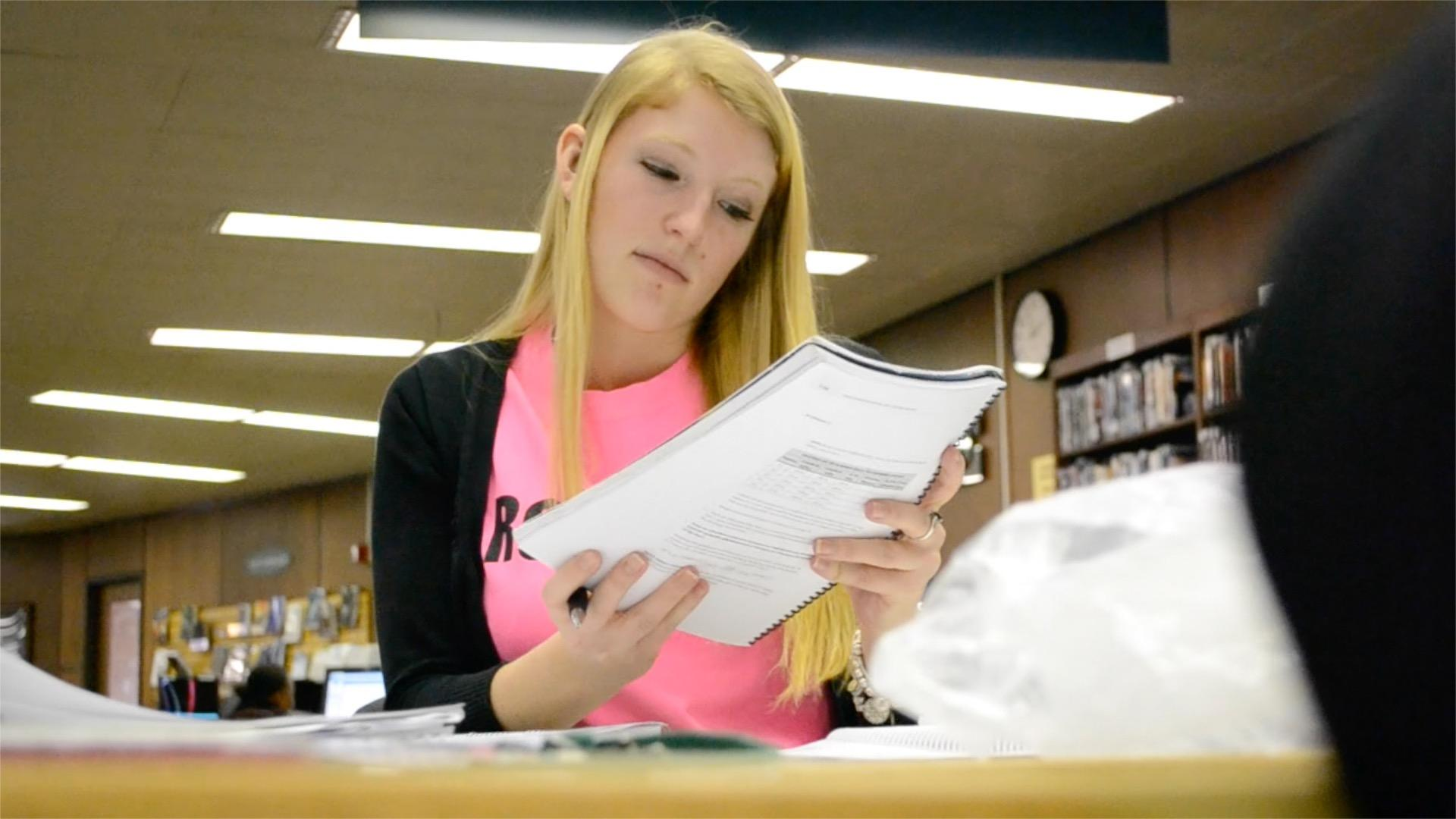 Student Spotlight Kate Waverka.