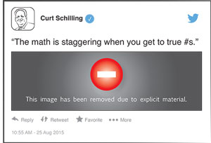 ESPN suspends Curt Schilling indefinitely after Twitter controversy