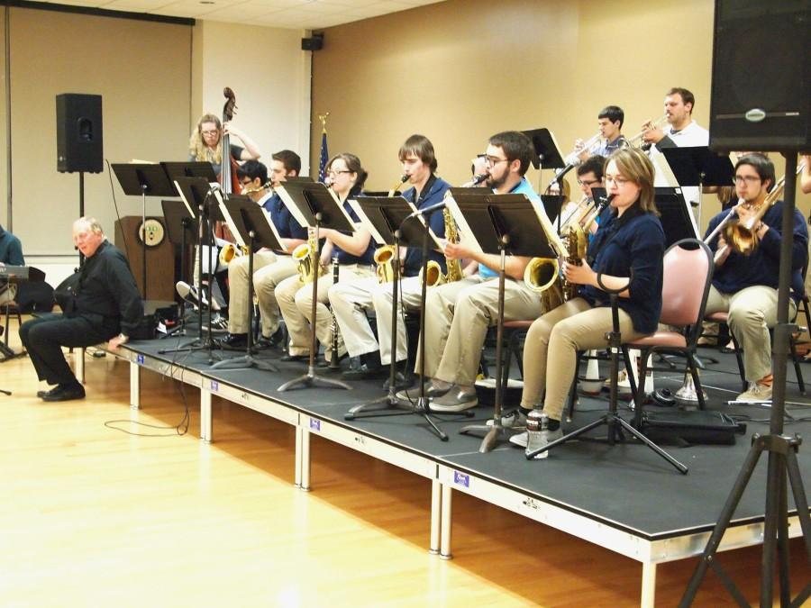Marywood+Jazz+Ambassadors+played+along+side+the+Faculty+Jazz+Quartet.