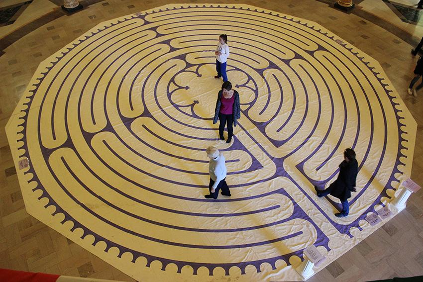 Labyrinth+provides+peace+during+time+of+turmoil