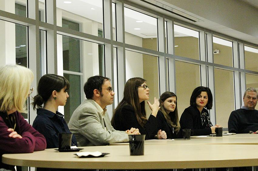 Marywood and Lackawanna College hold joint feminism panel
