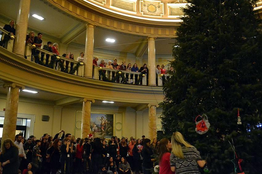 Annual Tree Lighting Ceremony sparks Christmas spirit