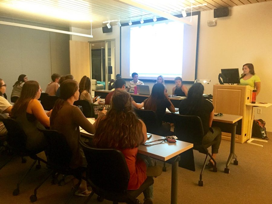 SGA+held+their+first+meeting+of+the+semester+on+Aug.+30.+