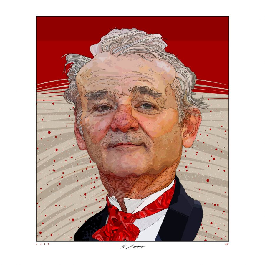 Bill+Murray+for+The+Washington+Post.+Copyright+Tony+Rodriguez+Illustration