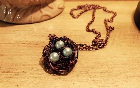Pinning with Margaret: DIY bird's nest necklace