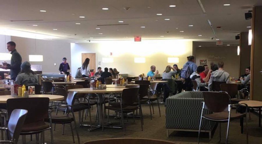 Commuter Thursdays happens in the Nazareth Dining Hall.