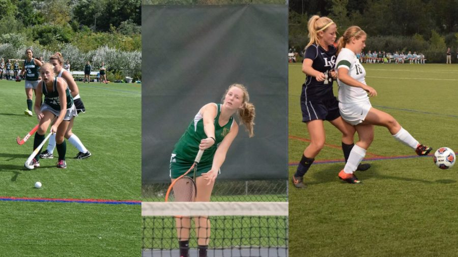 Field hockey, women's tennis and women's soccer had the highest overall GPA for the fall semester.