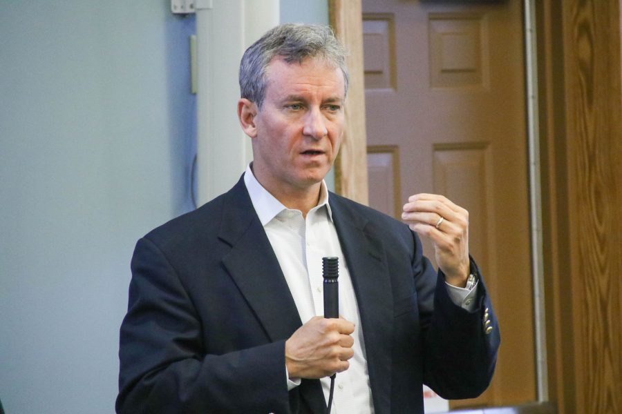 Congressman Matt Cartwright, during his April 20 town hall.