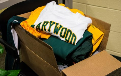 Marywood Athletics donates gear to Hurricane Harvey victims