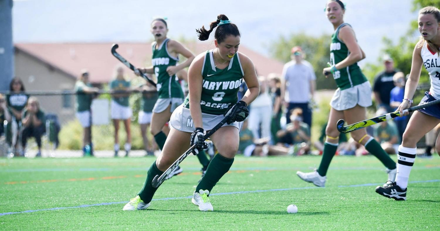 Sophomore midfielder Sara Sterchck tallied an assist for the Pacers in loss to Scranton. Photo courtesy of Marywood Athletics