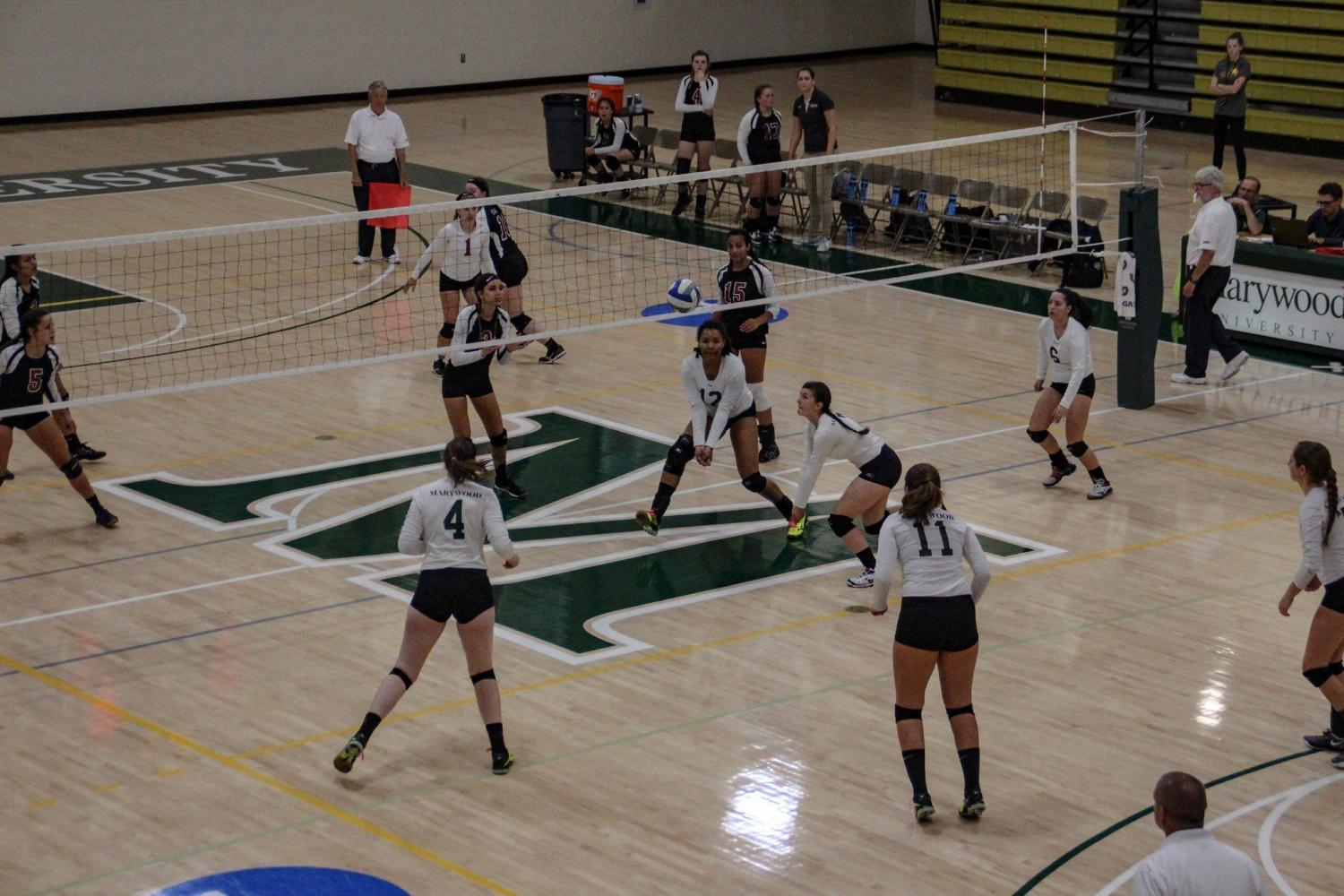 The volleyball team starts out strong in conference play.