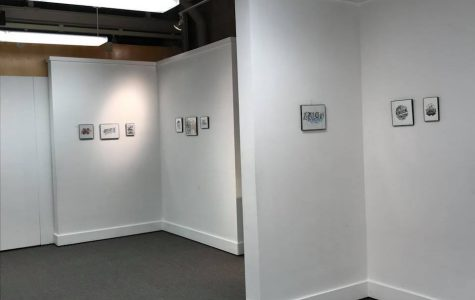 Marywood student holds hand lettering exhibition