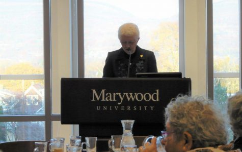 Marywood community members continue Thanksgiving tradition