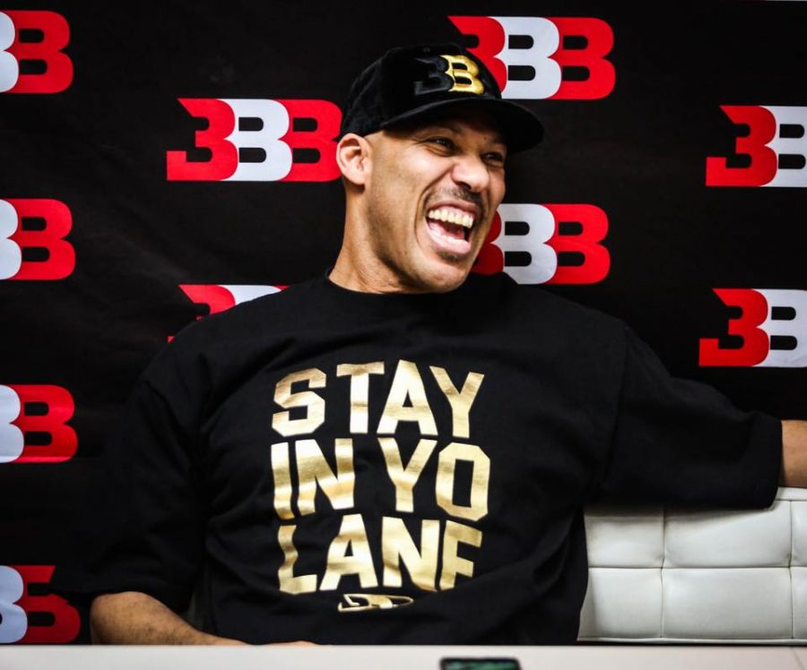 Lavar Ball wears a t-shirt of his now infamous quote. Photo courtesy: Lavar Ball's Official Facebook Page