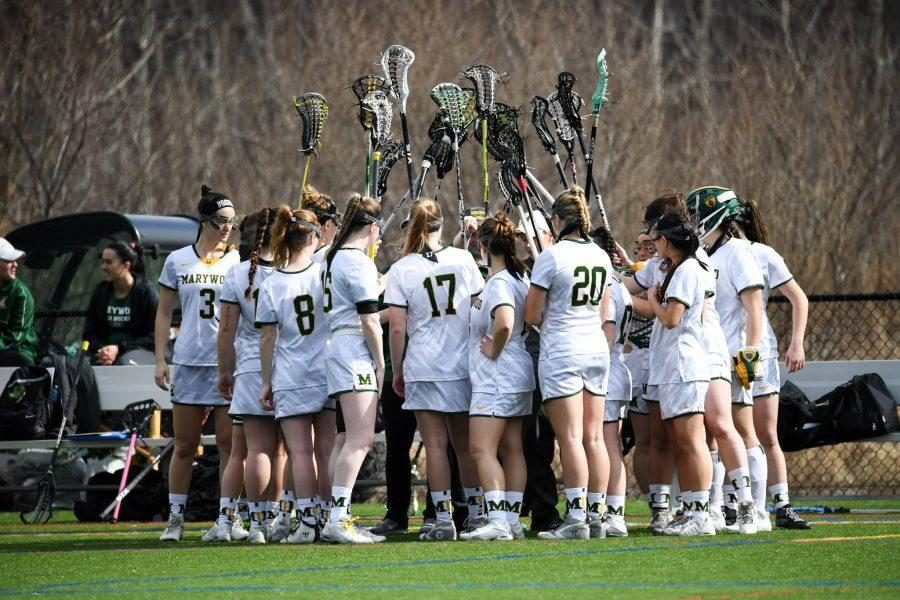 Women's lacrosse begins its season with a non-conference game against Alvernia University on Saturday. Photo credit: Photo courtesy of Marywood Athletics