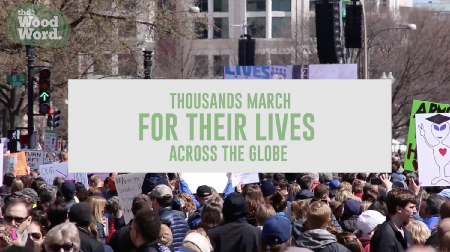 Thousands march for their lives