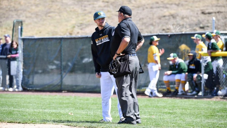Head Coach Jason Thiel's team looks to make a final playoff push before Marywood's departure from the Colonial States Athletic Conference. Photo credit: Photo courtesy of Marywood Athletics