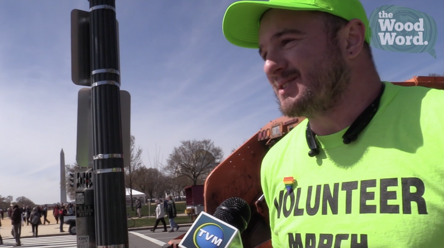 Faces of the March: The Volunteer