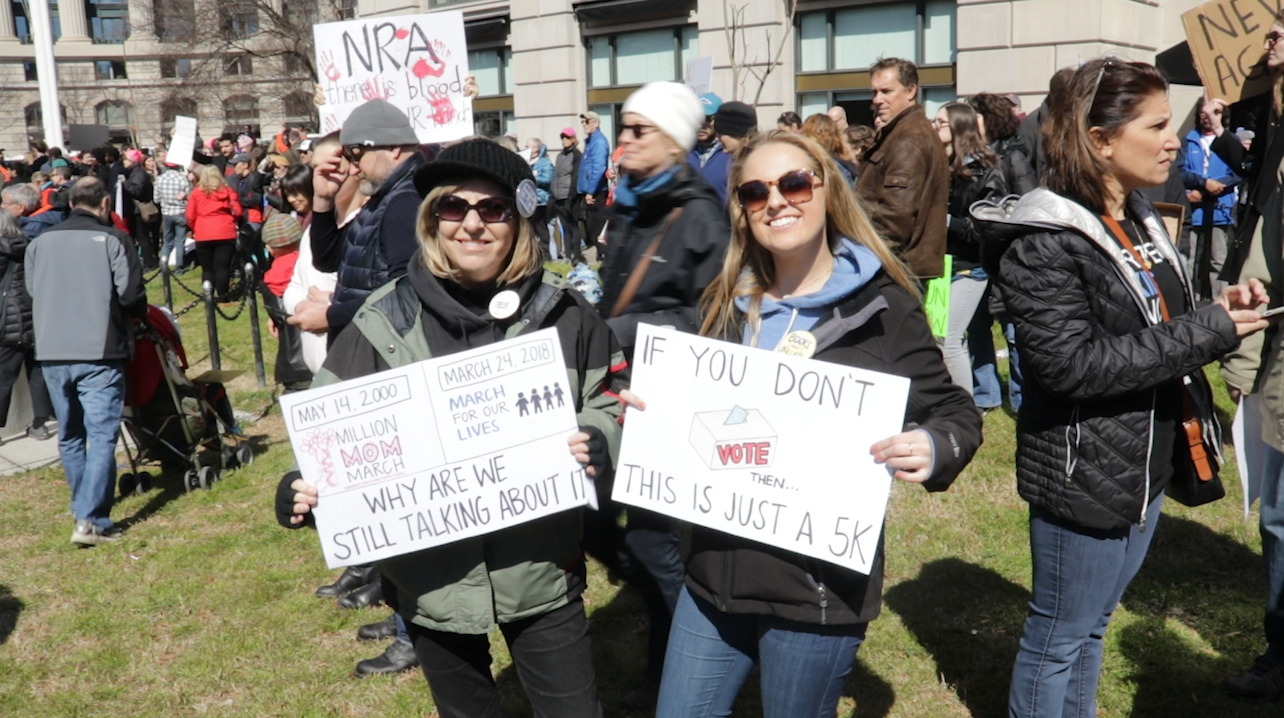 Faces of the March: The Mother and Daughter